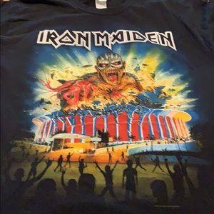 Iron Maiden original concert shirt